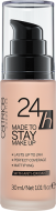 Тональная основа CATRICE 24h Made To Stay Make Up 010 Nude Beige бежевый: фото