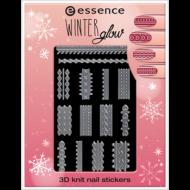 Наклейки для ногтей Winter glow Essence 01 cold hands, warm hearts: фото