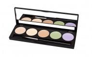 Палитра консилеров Make up Secret (5 Concealer Palette) 5 оттенков CP1 Цветная: фото