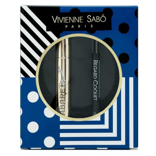 Подарочный набор Vivienne Sabo тушь Cabaret premiere т. 01+Карандаш для глаз Regard Сoquet т. 301 2017: фото