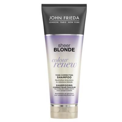 Шампунь для восстановления и поддержания оттенка осветленных волос John Frieda Sheer Blonde СOLOUR RENEW 250 мл: фото
