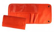Футляр для 12 кистей ВАЛЕРИ-Д (иск. кожа) оранжевый: фото