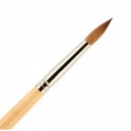Кисть для ногтей (акрил) ВАЛЕРИ-Д из волоса колонка №6 круглая: фото