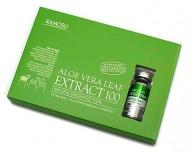 Сыворотка-концентрат алоэ RAMOSU Aloe vera leaf extract 100 10 мл*3: фото