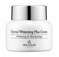 Осветляющий крем против пигментации кожи лица THE SKIN HOUSE Crystal whitening plus cream 50г: фото