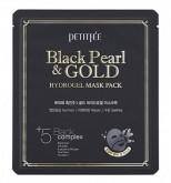 Маска гидрогелевая с черным жемчугом PETITFEE Black Pearl & Gold Hydrogel Mask Pack