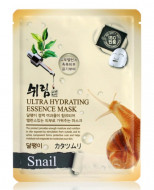 Маска тканевая с улиточным муцином Shelim Ultra Hydrating Essence Mask Snail 25мл: фото