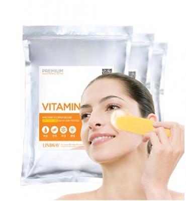 Альгинатная маска LINDSAY Premium vitamin modeling mask pack zipper 1 кг: фото