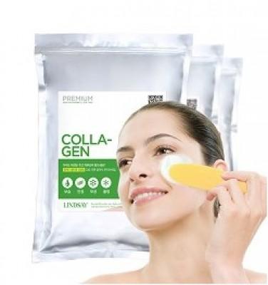 Альгинатная маска с коллагеном LINDSAY Premium collagen modeling mask pack zipper 1 кг: фото