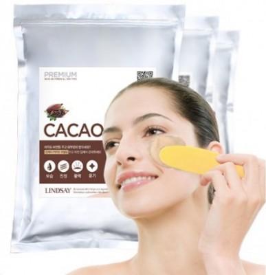 Альгинатная маска с какао LINDSAY Premium cacao modeling mask pack zipper 1 кг: фото