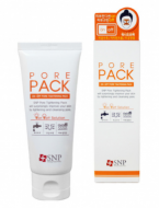 Средство для затирки пор SNP On-off pore tightening pack (wash-off type) 80г: фото