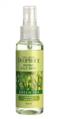 Тонер-мист освежающий с зеленым чаем DEOPROCE Well-being hydro face mist greentea 100мл: фото