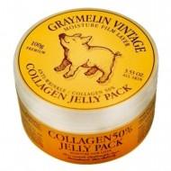 Маска для лица на основе свиного коллагена GRAYMELIN Collagen Jelly Pack 100г: фото