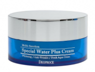Крем с гиалуроновой кислотой DEOPROCE Special water plus cream 100г: фото