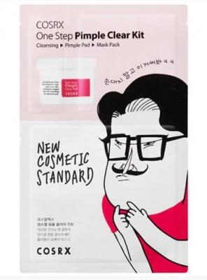 Набор средств для очищения и борьбы с высыпаниями COSRX One Step Pimple Clear Kit: фото
