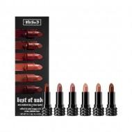 Набор помад Kat Von D Best of Nudes Mini Studded Kiss Crème Lipstick Set: фото