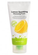 Пенка для умывания с экстрактом лимона SECRET KEY Lemon Sparkling Cleansing Foam 120г: фото