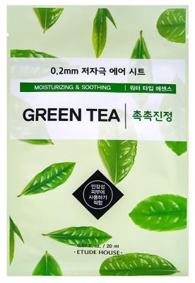 Маска с экстрактом зеленого чая ETUDE HOUSE 0.2 Therapy Air Mask Green Tea 20мл: фото