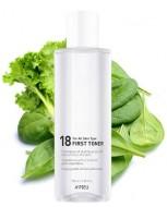 Тонер балансирующий для всех типов кожи A'PIEU 18 First Toner: фото