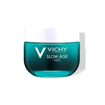 Крем-маска Ночной для интенсивной оксигенации кожи VICHY SLOW AGE 50мл: фото