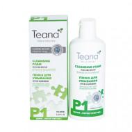 Пенка для умывания с экстрактом персика и шиповника TEANA 150мл: фото