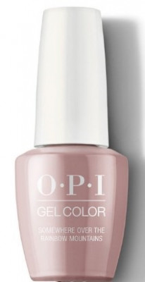 Гель для ногтей OPI GelColor Peru Somewhere Over the Rainbow Mountains GCP37: фото