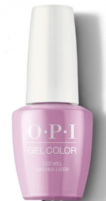 Гель для ногтей OPI GelColor Peru Suzi Will Quechua Later! GCP31: фото