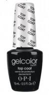 Верхнее покрытие OPI GelColor Top Coat GC030: фото