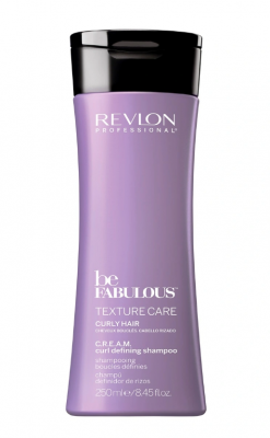 Шампунь, активирующий завиток Revlon Professional Be FABULOUS CURLY HAIR C.R.E.A.M. Shampoo 250 мл: фото