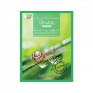 Тканевая маска для лица с экстрактом улитки Lebelage Snail Natural Mask, 23г: фото