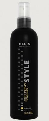 Лосьон-спрей для укладки волос средней фиксации OLLIN STYLE Lotion-Spray Medium 250мл: фото