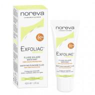 Эмульсия матирующая солнцезащитная SPF50 Noreva Exfoliac 40мл