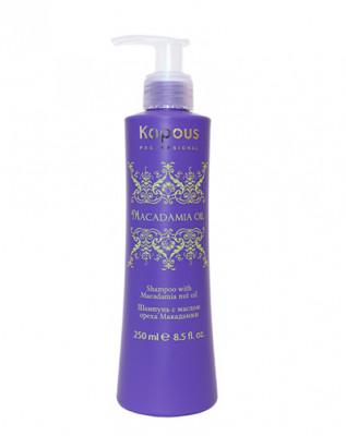 Шампунь с маслом ореха макадамии Kapous Professional Macadamia Oil 250мл: фото