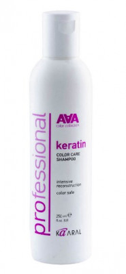 Шампунь кератиновый для окрашенных и химически обработанных волос Kaaral Keratin Color Care Shampoo 250мл: фото