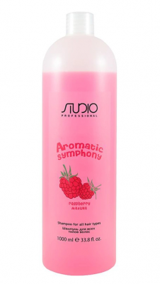 Шампунь для всех типов волос Малина Kapous Studio 1000мл: фото