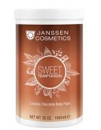 Кремовое обертывание Корректирующее Janssen Cosmetics Sweet Temptation Creamy Chocolate Body Pac 1000 мл: фото