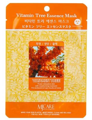 Маска тканевая облепиха Mijin Vitamin Tree Essence Mask 23г: фото