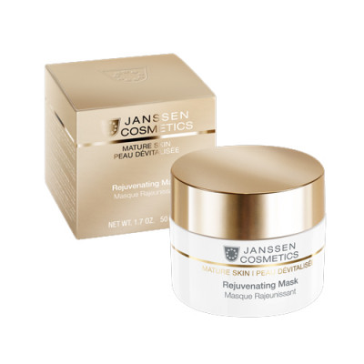 Маска-крем омолаживающая с комплексом Cellular Regeneration Janssen Cosmetics Rejuvenating Mask 50 мл: фото