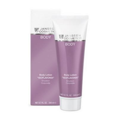 Эмульсия для тела с фитоэтрогенами Janssen Cosmetics Body Lotion ISOFLAVONIA 200 мл: фото