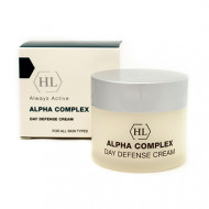 Крем дневной защитный с AHA кислотами SPF15 Alpha Complex Day Defense Cream 50 мл: фото