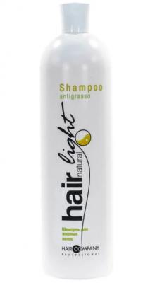Шампунь для жирных волос Hair Company Hair Natural Light Shampoo Antigrasso 1000мл: фото