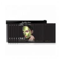 Трехкомпонентный комплекс масок УВЛАЖНЕНИЕ И СЕБОКОНТРОЛЬ Double Dare OMG! Platinum Green Facial Mask: фото