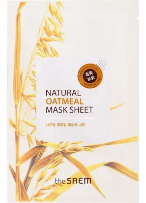 Маска тканевая с экстрактом овсянки THE SAEM Natural Oatmeal Mask Sheet 21мл: фото