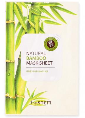 Маска тканевая с экстрактом бамбука THE SAEM Natural Bamboo Mask Sheet 21мл: фото