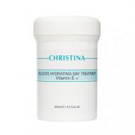 Крем деликатный увлажняющий лечебный с витамином Е CHRISTINA Delicate Hydrating Day Treatment + Vitamin E 250 мл: фото