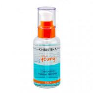 Средство для снятия макияжа CHRISTINA Forever Young Dual Action Make Up Remover 100 мл: фото