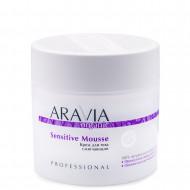 Крем для тела смягчающий Aravia professional Organic Sensitive Mousse 300 мл: фото