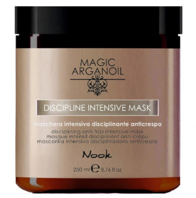 Маска интенсивная для ухода за непослушными волосами NOOK Disciplining Intensive Mask 250 мл: фото