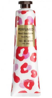 Крем-масло для рук THE SAEM Perfumed Hand Shea Butter Red Plum 30мл: фото