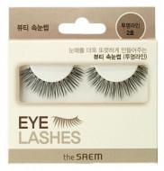 Накладные ресницы THE SAEM Eyelash Clear Line 2 черные: фото